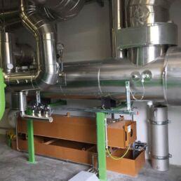 Abgas-Wärmetauscher und erweiterte Schmierölwanne