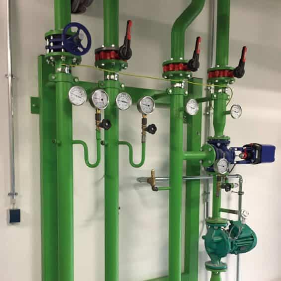 Vorgefertigte Pumpengruppen reduzieren die Montagezeit