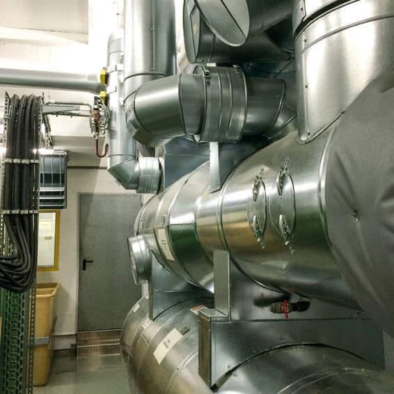 Hoch- und Niedertemperatur-Abgaswärmetauscher