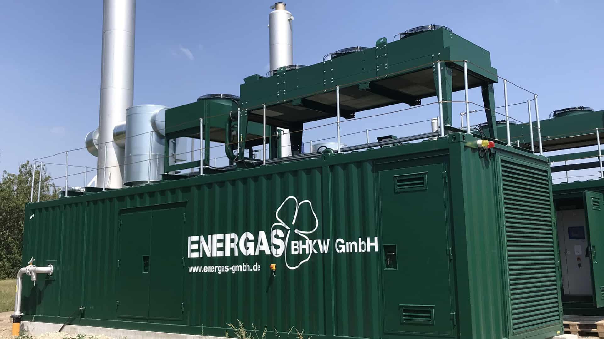 energas bhkw-containeranlage