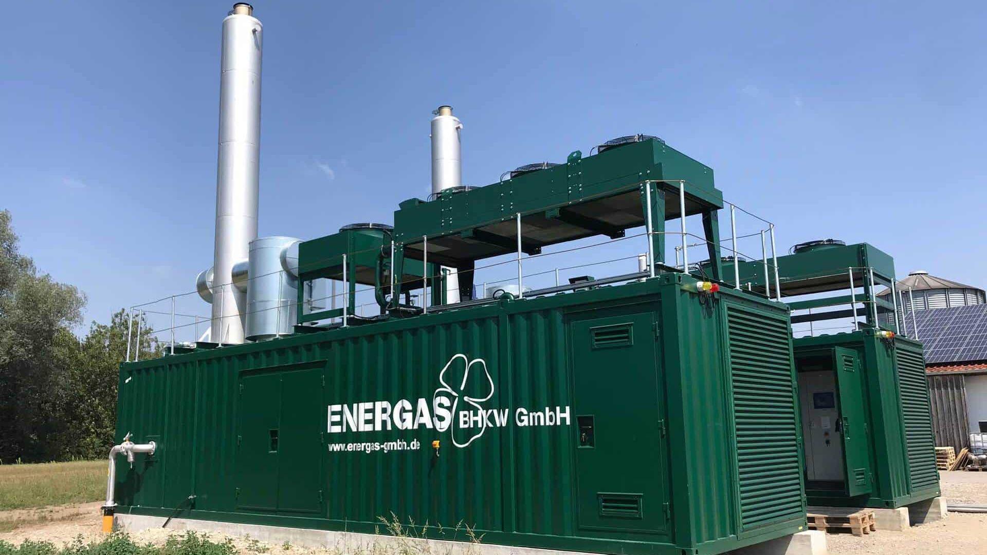 Emissionen bei Biogasanlagen