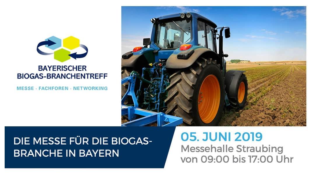 Bayerischer Biogas-Branchentreff 2019