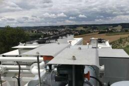 Energas BHKW Notkühlung und Gemischkühlung