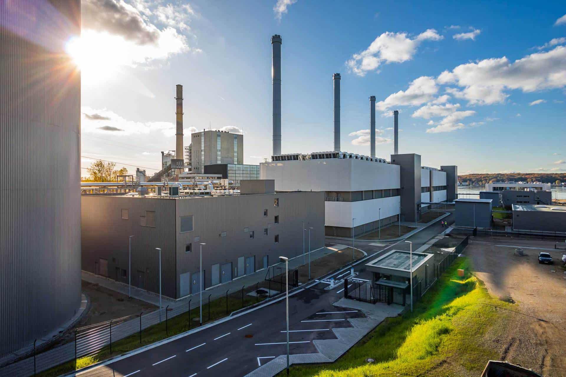 Küstenkraftwerk in Kiel