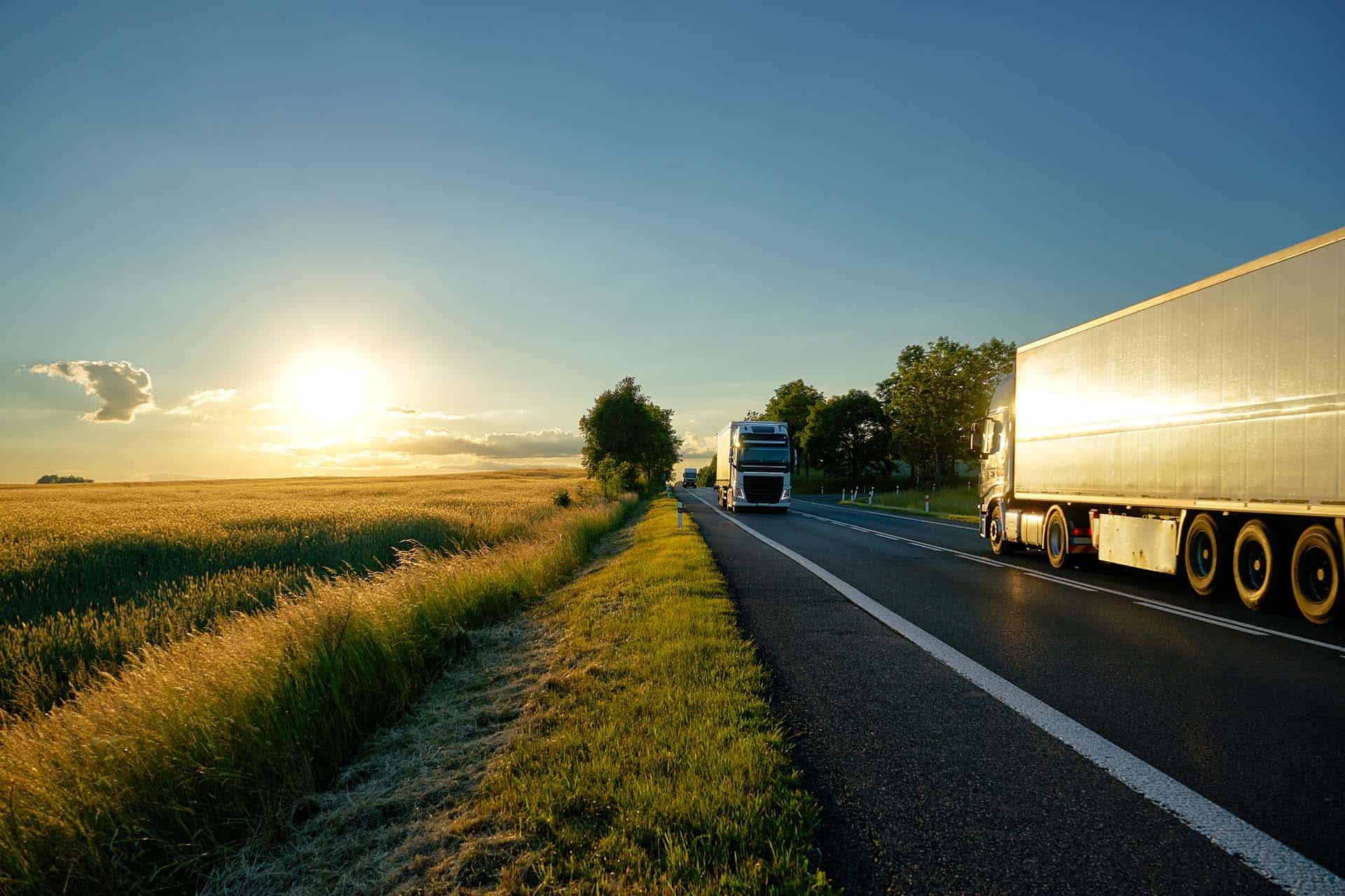 Bio-LNG Emissionen beim Güterverkehr