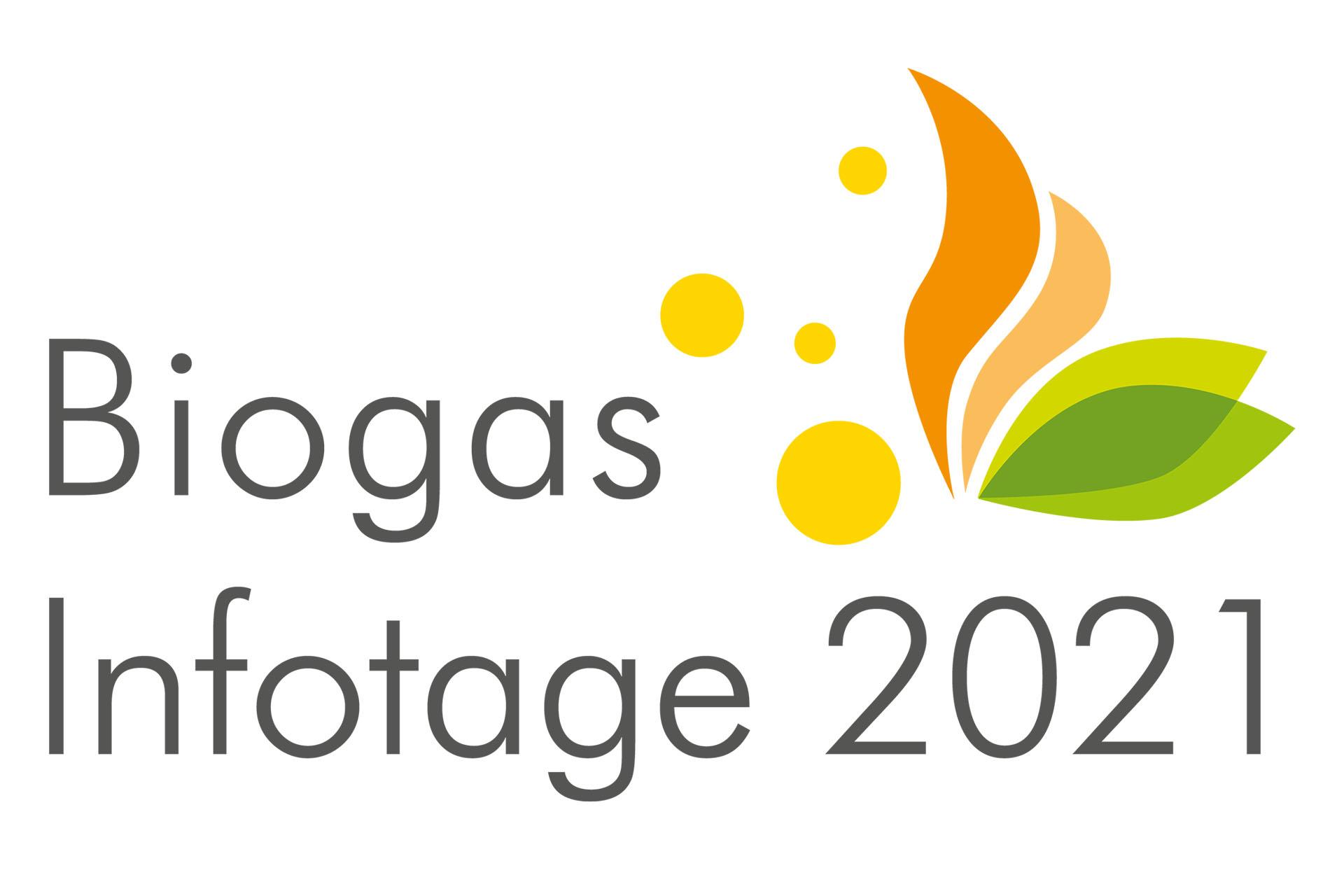 Schrift zu Biogas Infotage 2021