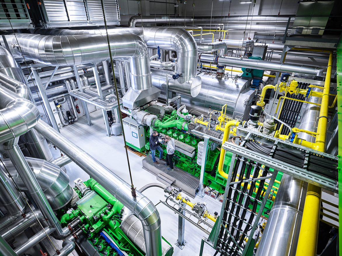 Grundlagen des Gasmotors im BHKW – Funktion und Eigenschaften
